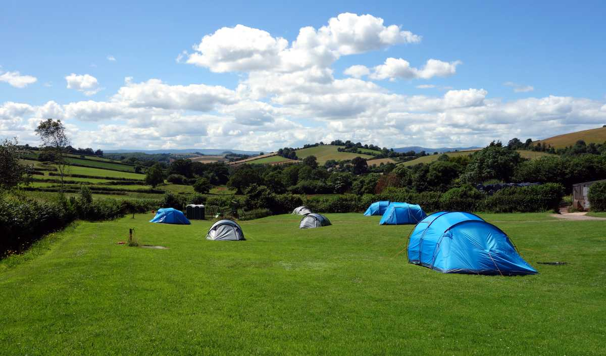 Traditional family run campsite near Torquay in Devon. Camping Torquay